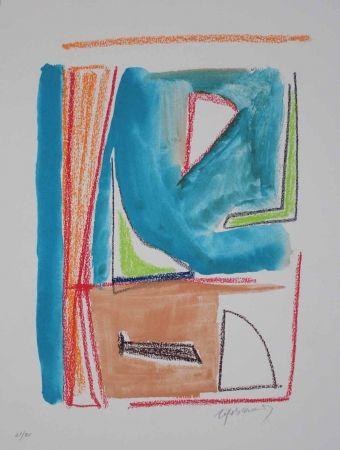Litografía Ràfols Casamada - Estructures 2