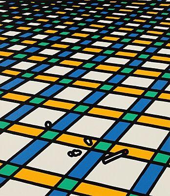 Serigrafía Caulfield - Et moi je suis seul dans ma demeure