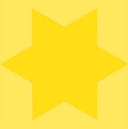Serigrafía Mosset - Etoile jaune