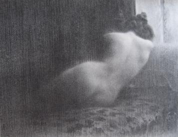 Litografía Neumont - Etude / Boudeuse