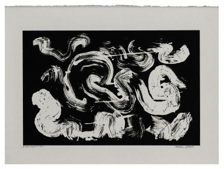 Serigrafía Verdier - Etude de la coiffe de Margareta ou la pensée labyrinthique