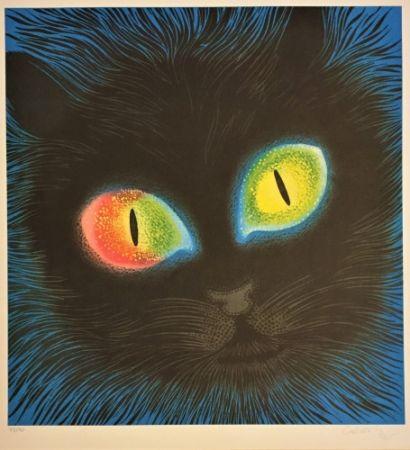 Litografía Vasarely - Etude de Lumiére