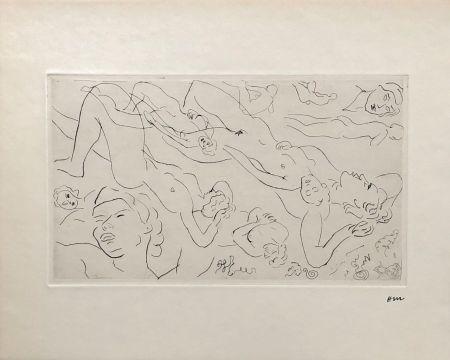 Grabado Matisse - Etude de nu