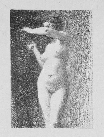 Litografía Fantin-Latour - Etude pour Eve