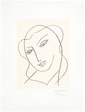 Litografía Matisse - Etude pour la Vierge,