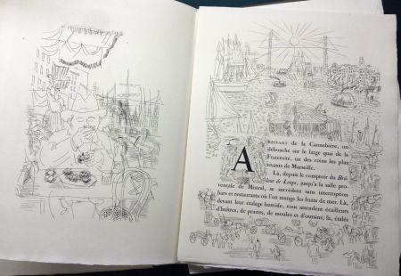 Libro Ilustrado Dufy - Eugène Montfort: LA BELLE ENFANT OU L'AMOUR A QUARANTE ANS. 94 eaux-fortes originales de Raoul Dufy (1930).
