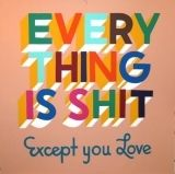 Serigrafía Powers - Everything is shit except you love