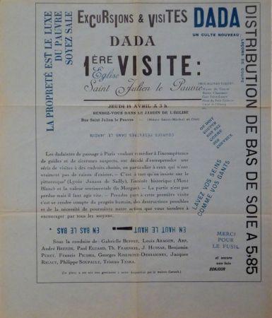 Sin Técnico Tzara - Excursions & visites Dada