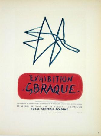 Litografía Braque - Exhibition  Royal Scottish Academy