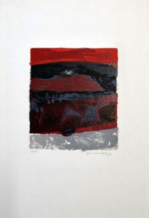 Litografía Ortega - Exodus