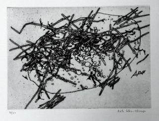 Aguafuerte Y Aguatinta Celan Lestrange - Expansion