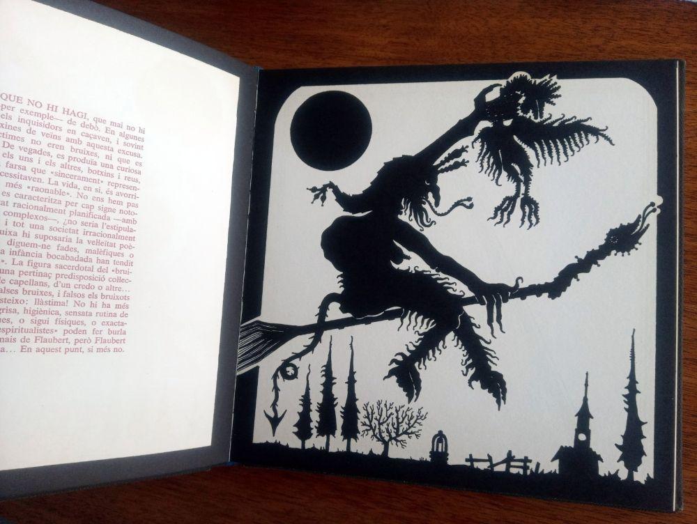 Libro Ilustrado Ponç - Exploracio de l'ombra - Joan Fuster / Joan Ponç