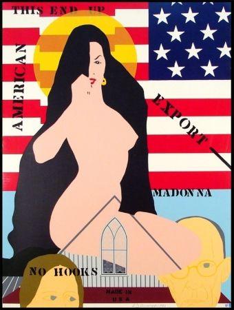 Serigrafía D'arcangelo - Export Madonna