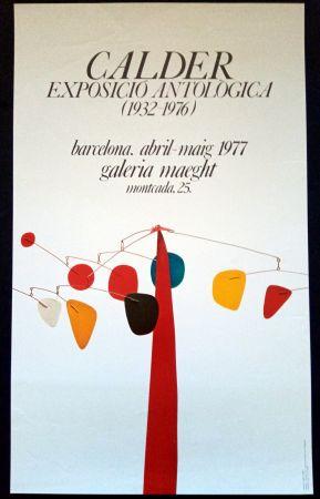 Cartel Calder - Exposició Antològica 1932 1976
