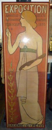 Cartel Réalier-Dumas - Exposition annuelle de peinture et de scupture