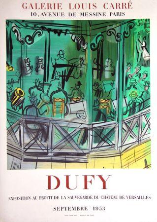 Litografía Dufy - Exposition au Profit de la Sauvegarde du Chateau de Versailles