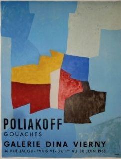 Cartel Poliakoff - Exposition Dina Virny