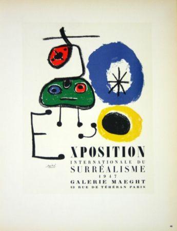 Sin Técnico Miró - Exposition du Surréalisme  Galerie Maeght 1947