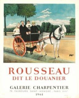 Litografía Rousseau - Exposition galerie charpentier