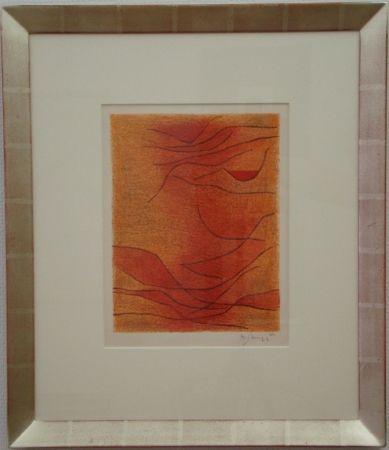 Litografía Singier - Exposition Galerie de France