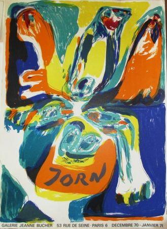 Cartel Jorn - Exposition Galerie Jeanne Bucher 70-71