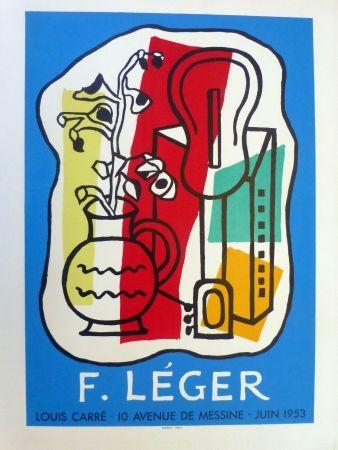 Litografía Leger - Exposition Galerie Louis Carré, 1953