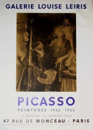 Cartel Picasso - Exposition Louise Leiris