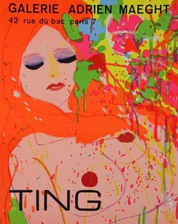 Litografía Ting - Exposition Maeght