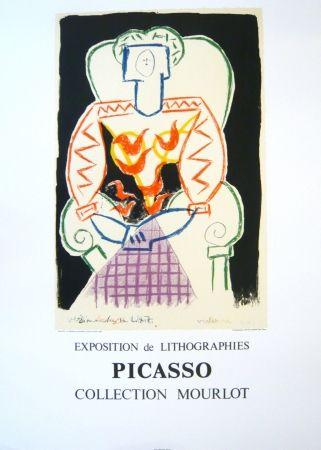 Cartel Picasso - Exposition Picasso Mourlot 1