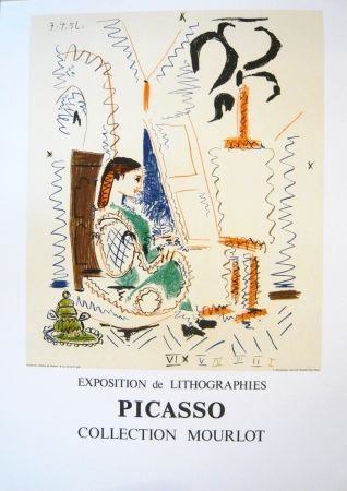 Cartel Picasso - Exposition Picasso Mourlot 2