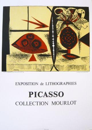 Cartel Picasso - Exposition Picasso Mourlot 3