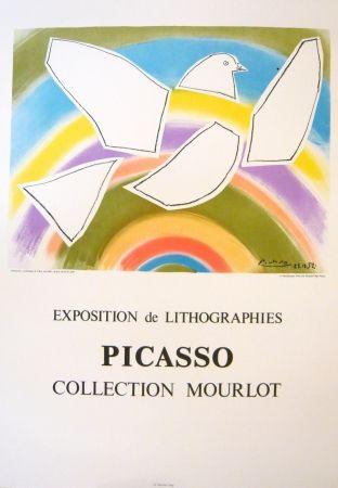 Cartel Picasso - Exposition Picasso Mourlot 4