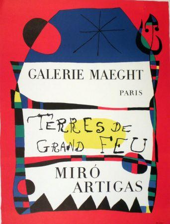 Litografía Miró - Exposition