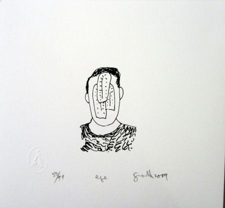 Serigrafía Gronk - Eye