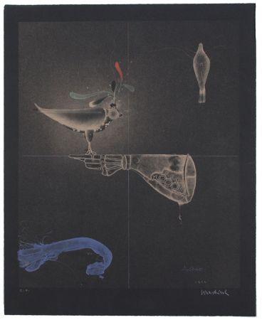 Litografía Wunderlich - Falkenhandschuh / Falconer's Glove