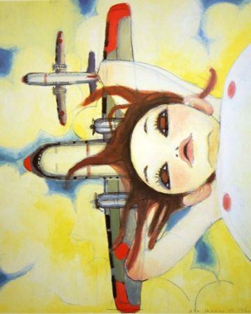Litografía Takano - Fallin' Manma Air