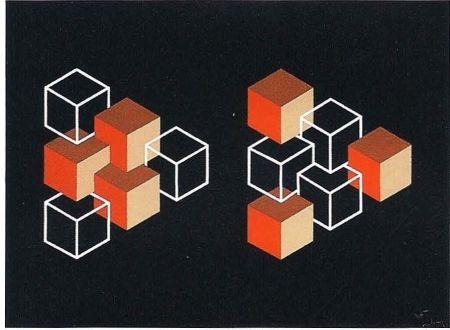 Litografía Molins - Falsaciones del triangulo de Penrose 5