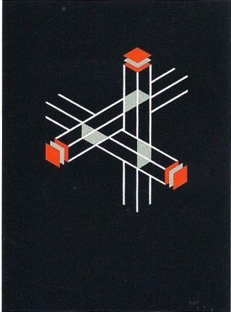 Litografía Molins - Falsaciones del triangulo de Penrose 9