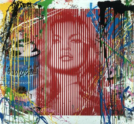 Sin Técnico Mr. Brainwash - Fame Moss Red/ Kate Moss (HPM)