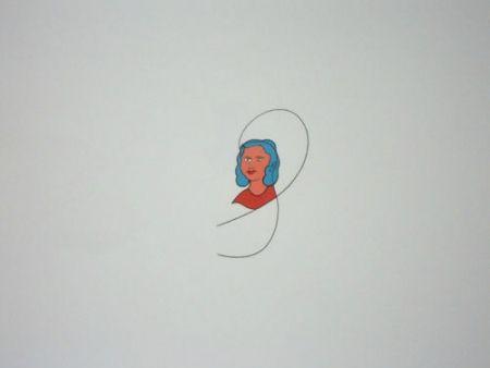 Litografía Dominicis (De) - Famiglia