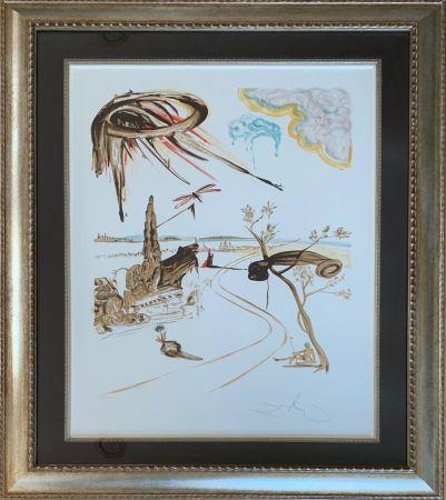 Litografía Dali - Fantastic Voyage