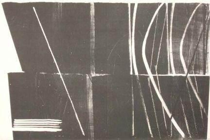 Litografía Hartung - Farandole 11
