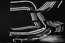 Litografía Hartung - Farandole 12