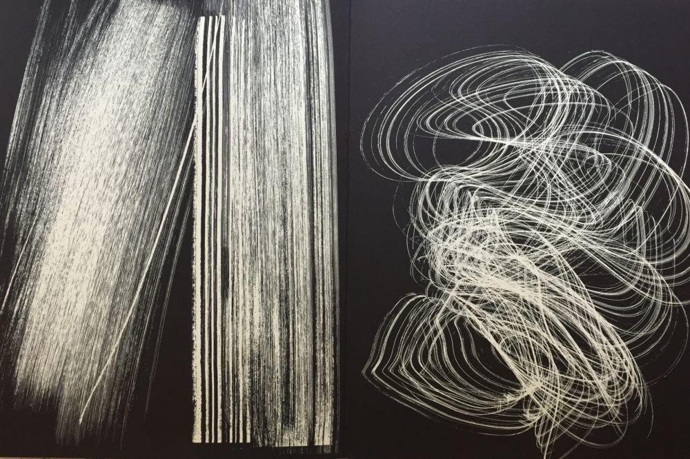 Litografía Hartung - Farandole 13