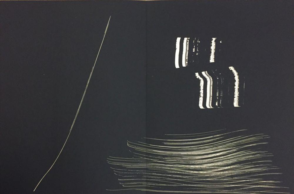 Litografía Hartung - Farandole 14