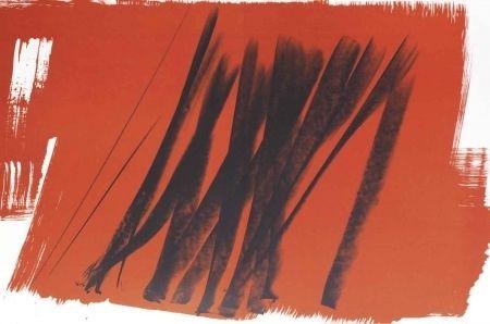 Litografía Hartung - Farandole 15