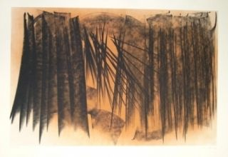 Litografía Hartung - Farandole 20