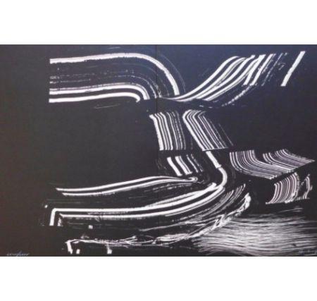 Litografía Hartung - Farandole 4