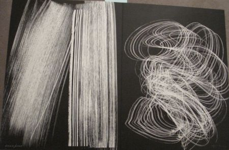 Litografía Hartung - Farandole 6