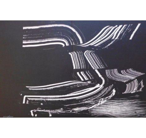 Litografía Hartung - Farandole D